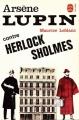 Couverture Arsène Lupin contre Herlock Sholmès Editions Le Livre de Poche 1984