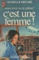 Couverture Vous avez vu le pilote ? C'est une femme ! Editions J'ai lu (Édition illustrée) 1982