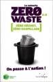 Couverture Le scénario zéro waste 2.0 Editions Rue de l'échiquier 2017