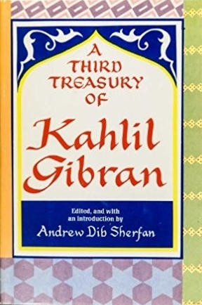 Couverture A Third Treasury of Kahlil Gibran