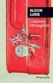 Couverture Liaisons étrangères Editions Rivages (Poche) 2017
