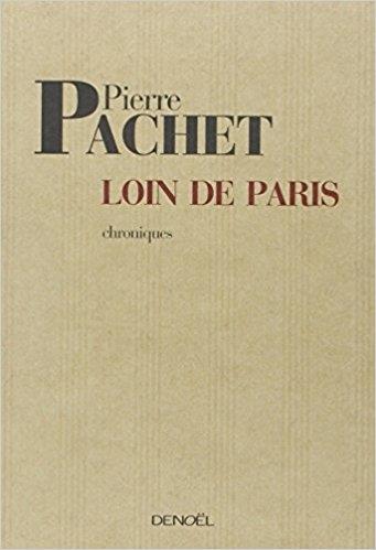 Couverture Loin de Paris