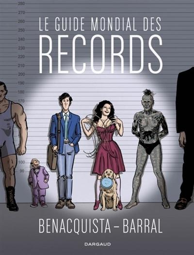 Couverture Le guide mondial des records