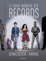 Couverture Le guide mondial des records Editions Dargaud 2017