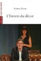 Couverture L'envers du décor Editions L'Avant-scène théâtre (Quatre-vents) 2017