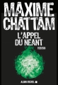 Couverture L'appel du néant Editions Albin Michel 2017