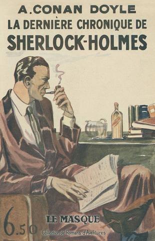 Couverture La dernière chronique de Sherlock Holmes