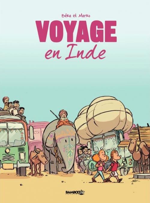 Couverture Voyage en Inde