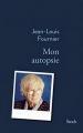 Couverture Mon autopsie Editions Stock (La Bleue) 2017