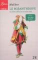 Couverture Le misanthrope / Le misanthrope ou l'atrabilaire amoureux Editions Librio (Théâtre) 2015