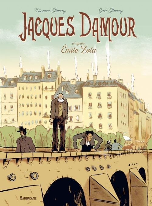 Couverture Jacques Damour
