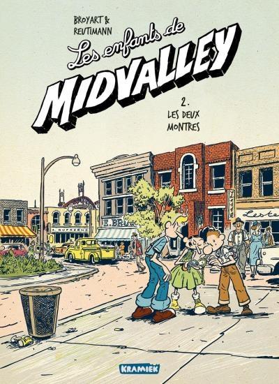 Couverture Les enfants de Midvalley, tome 2 : Les deux montres