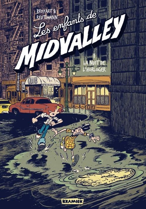 Couverture Les enfants de Midvalley, tome 1 : La nuit de l'horloger