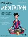 Couverture Mon cahier : Méditation Editions Solar 2017