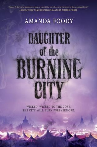 Couverture Daughter of the Burning City