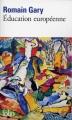 Couverture Education européenne Editions Folio  2016