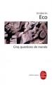 Couverture Cinq questions de morale Editions Le Livre de Poche (Biblio essais) 2002