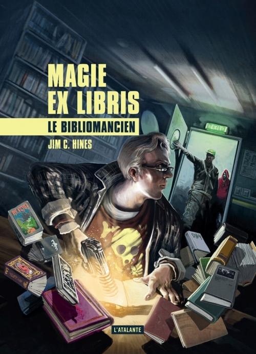 Couverture Magie Ex Libris, tome 1 : Le Bibliomancien