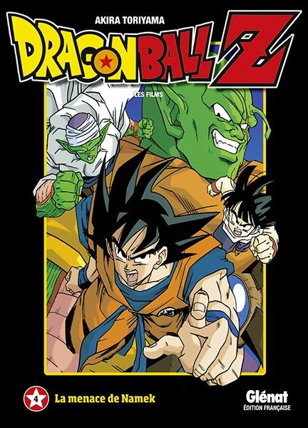 Couverture Dragon Ball Z : Les films, tome 04 : La menace de Namek