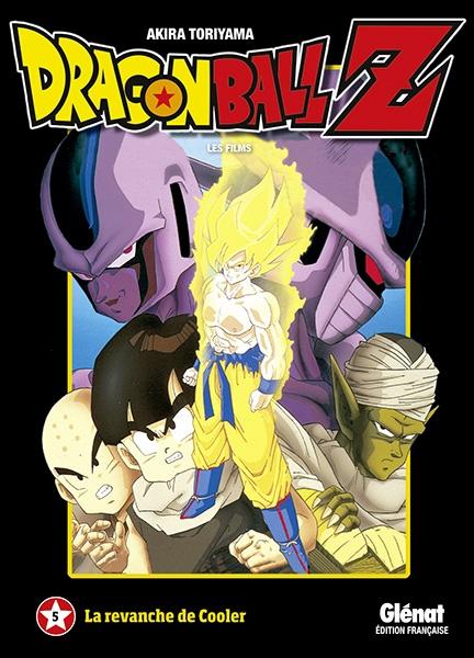 Couverture Dragon Ball Z : Les films, tome 05 : La revanche de Cooler