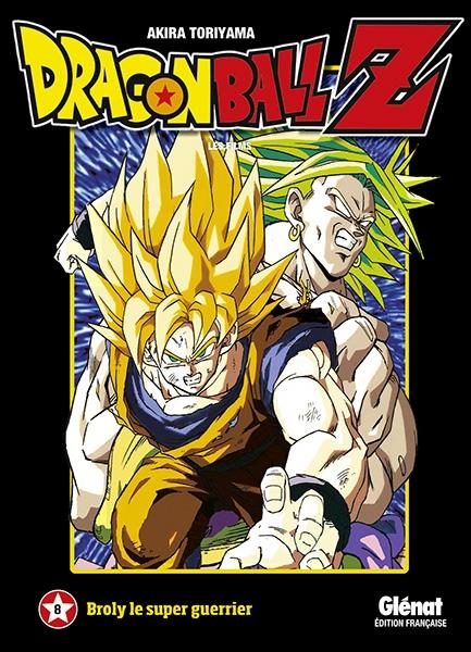 Couverture Dragon Ball Z : Les films, tome 08 : Broly le super guerrier