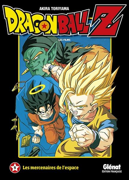 Couverture Dragon Ball Z : Les films, tome 09 : Les mercenaires de l'espace