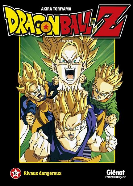 Couverture Dragon Ball Z : Les films, tome 10 : Rivaux dangereux