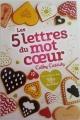 Couverture Les 5 lettres du mot coeur Editions Fernand Nathan 2017