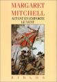 Couverture Autant en emporte le vent, intégrale Editions Gallimard  1989