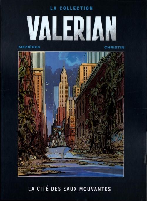 Couverture Valérian, Agent Spatio-temporel, tome 01 : La Cité des eaux mouvantes