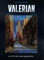 Couverture Valérian, Agent Spatio-temporel, tome 01 : La Cité des eaux mouvantes Editions Hachette 2017
