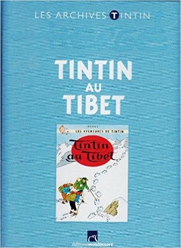 Couverture Les aventures de Tintin, tome 20 : Tintin au Tibet