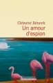 Couverture Un amour d'espion Editions Flammarion 2017