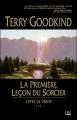 Couverture L'épée de vérité, tome 01 : La première leçon du sorcier Editions Bragelonne (Fantasy) 2003