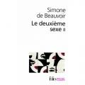 Couverture Le deuxième sexe, tome 2 : L'expérience vécue Editions Folio  (Essais) 1986