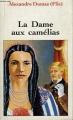 Couverture La Dame aux camélias Editions Carrefour 1995