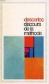 Couverture Discours de la méthode / Le discours de la méthode Editions Garnier Flammarion 1966