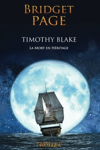 Couverture Timothy Blake : La mort en héritage