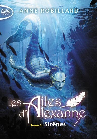 Couverture Les ailes d'Alexanne, tome 6 : Sirènes