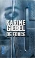 Couverture De force Editions Pocket 2017