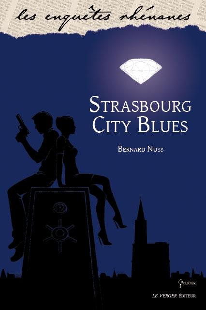 Couverture Strasbourg city blues