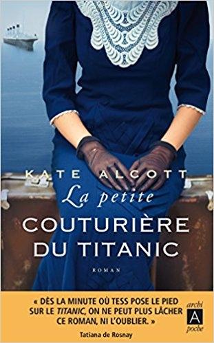 Couverture La petite couturière du Titanic
