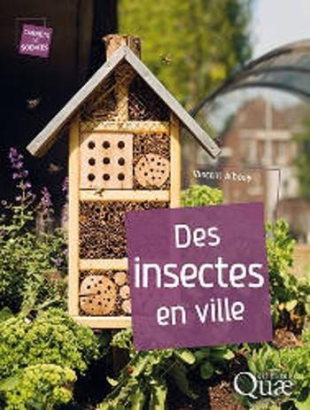 Couverture Des insectes en ville