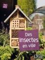 Couverture Des insectes en ville Editions Quae 2017