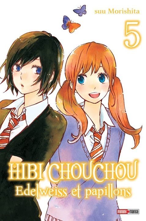 Couverture Hibi Chouchou : Edelweiss et papillons, tome 05