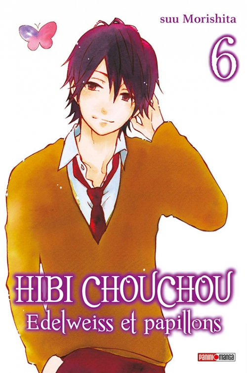 Couverture Hibi Chouchou : Edelweiss et papillons, tome 06