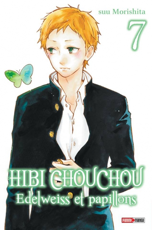 Couverture Hibi Chouchou : Edelweiss et papillons, tome 07
