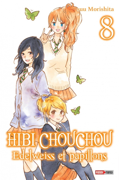 Couverture Hibi Chouchou : Edelweiss et papillons, tome 08