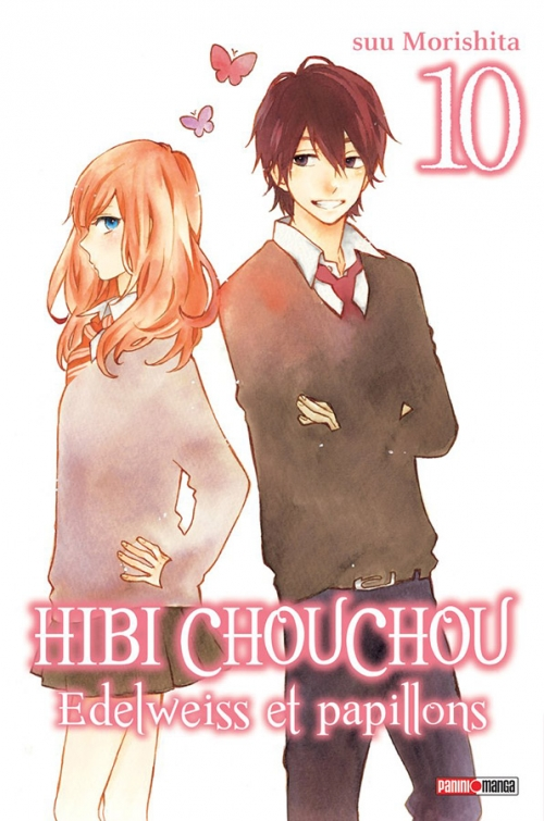 Couverture Hibi Chouchou : Edelweiss et papillons, tome 10