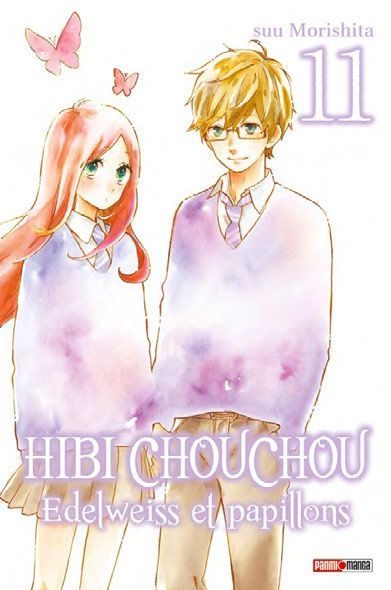Couverture Hibi Chouchou : Edelweiss et papillons, tome 11
